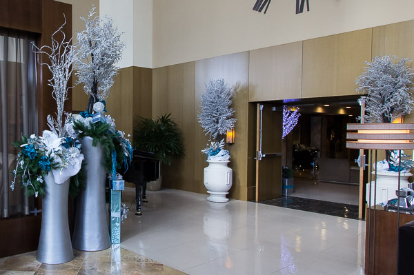 Holiday d cor in san diego 2014 - Interior holiday decorating services ...