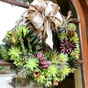 Custom-Succulent-Holiday-Wreath-San-Diego-2018-1