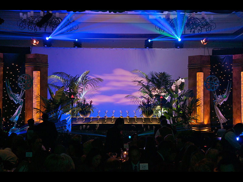 Special Event Short Term Plant Rental for Emmy Awards San Diego