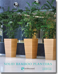 ASI Bamboo Decorative Container