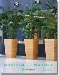ASI Bamboo Planters